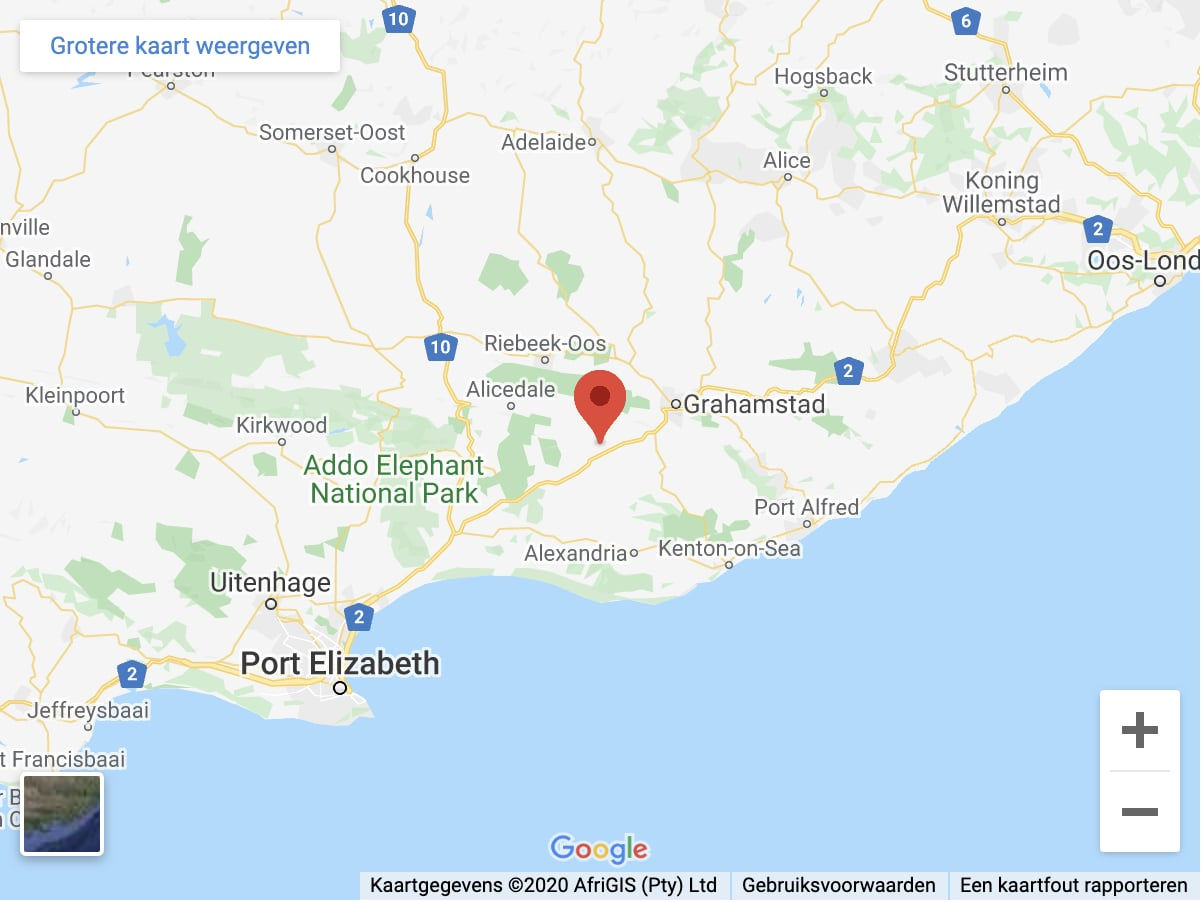 location seven fountains farm guesthouse and restaurant eastern cape south africa